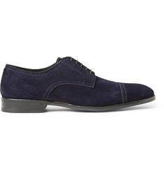 Brioni Suede Oxford Shoes