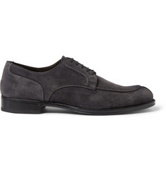 Brioni Suede Derby Shoes