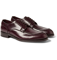 Brioni Split-Toe Polished-Leather Derby Shoes