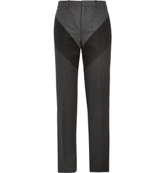 Givenchy Slim-Fit Panelled Wool Trousers