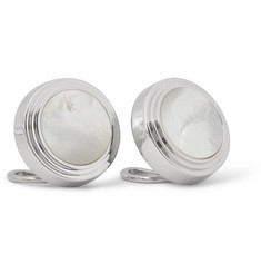 Lanvin Mother-of-Pearl Button Covers