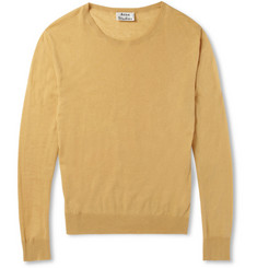 Acne Studios Hydra O Cotton and Linen-Blend Sweater