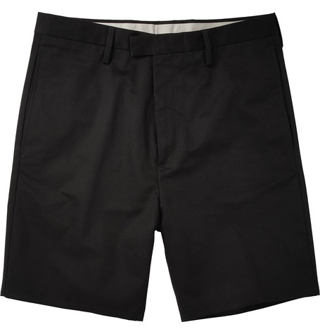 Acne Studios Bermuda Cotton-Twill Shorts