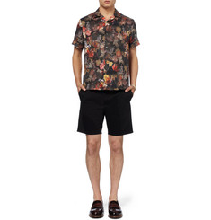 Acne Studios Ericson Printed Short-Sleeved Cotton Shirt