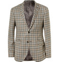 Etro - Slim-Fit Check Wool Blazer