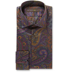 Etro Slim-Fit Paisley-Print Cotton Shirt
