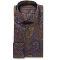 Etro - Slim-Fit Paisley-Print Cotton Shirt