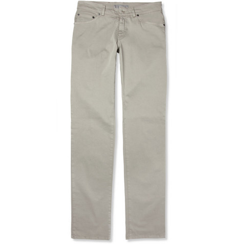 Etro Slim-Fit Cotton-Blend Chinos