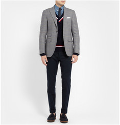 Michael Bastian Slim-Fit Prince Of Wales Check Wool Blazer