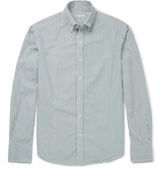 Michael Bastian Slim-Fit Striped Cotton Shirt