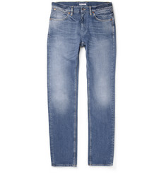 Michael Bastian Slim-Fit Washed Denim Jeans
