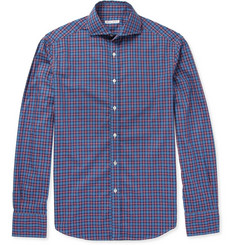 Michael Bastian Slim-Fit Check Cotton Shirt