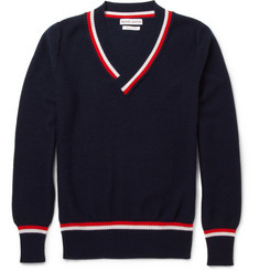 Michael Bastian V-Neck Cashmere Sweater