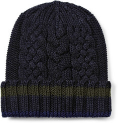Etro Wool and Cotton Beanie Hat