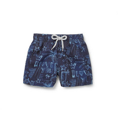 Vilebrequin Moorea Children's Printed Swim Shorts