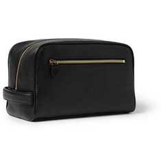 Mulberry Full-Grain Leather Wash Bag