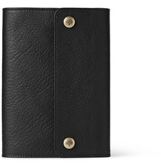 Mulberry Grained Leather A6 Notebook Cover