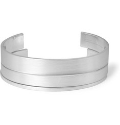 Le Gramme Matte Sterling Silver Cuff Set of 3