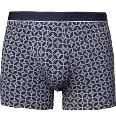 Derek Rose Printed Pima Cotton-Blend Boxer Briefs