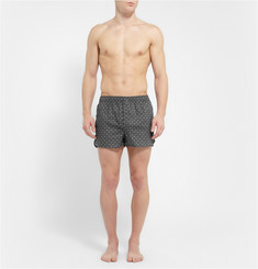 Derek Rose Arlo Printed Cotton Boxer Shorts