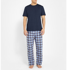 Derek Rose Ranga Plaid Cotton Pyjama Trousers