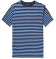 Derek Rose Dylan Striped Stretch-Micro Modal T-Shirt