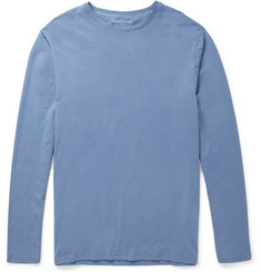 Derek Rose Basel Long-Sleeved Micromodal-Blend T-Shirt