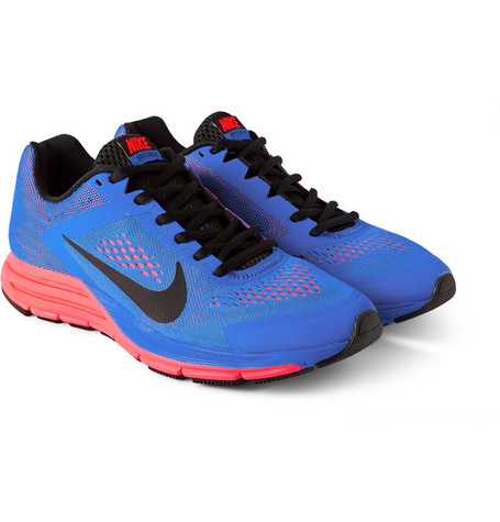 Nike Zoom Structure +17 Mesh and Rubber Sneakers