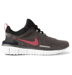 Nike Nike Free OG 2014 Microsuede and Tech-Jersey Sneakers