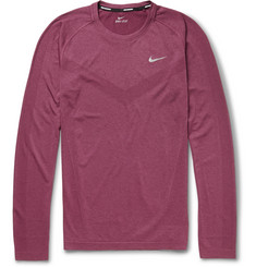 Nike Dri-Fit Long-Sleeved Running T-Shirt