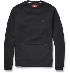 Nike Tech-Fleece Cotton-Jersey Sweatshirt