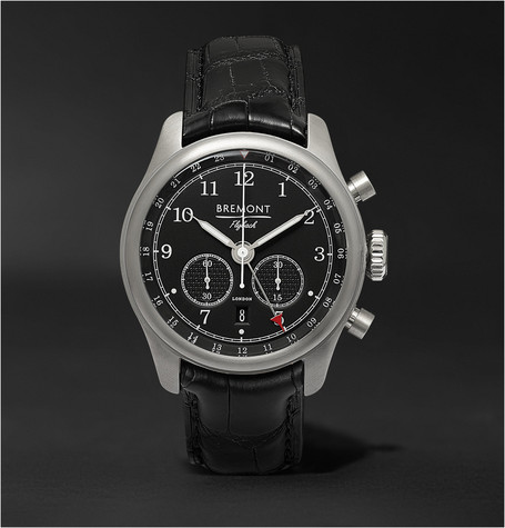Bremont Codebreaker/SS Automatic Chronograph Watch