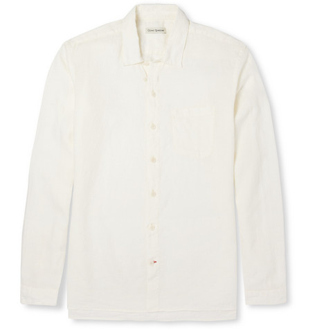 Oliver Spencer Island Linen Shirt