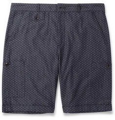 Oliver Spencer Cotton-Jacquard Cargo Shorts