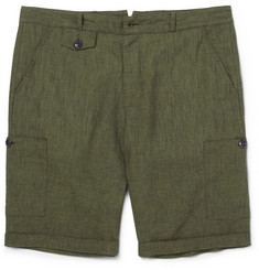 Oliver Spencer Linen Cargo Shorts