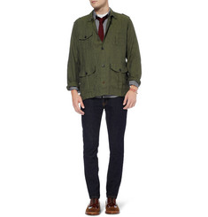 Oliver Spencer Linen Safari Jacket