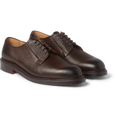 Cheaney Deal Pebble-Grain Leather Derby Shoes