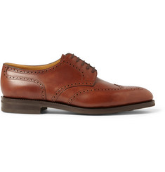 John Lobb Darby II Leather Wingtip Brogues