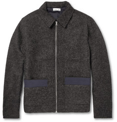 Folk Wool-Blend Bomber Jacket