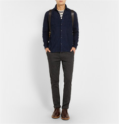Folk Panelled Corduroy Shirt