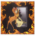 Givenchy Bambi and Flame-Print Scarf