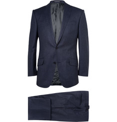 Richard James Navy Houndstooth Wool-Flannel Suit