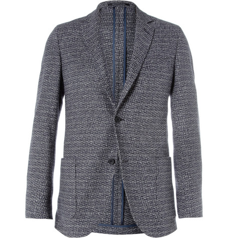 Richard James Slim-Fit Unstructured Wool and Cashmere-Blend Blazer