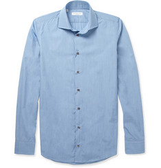 Richard James Slim-Fit End-On-End Cotton Shirt