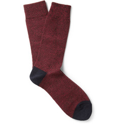 Paul Smith Shoes & Accessories Knitted Wool-Blend Socks