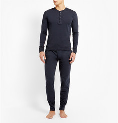 Paul Smith Shoes & Accessories Cotton-Jersey Henley T-Shirt