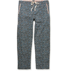 Paul Smith Shoes & Accessories Printed Cotton Pyjama Bottoms