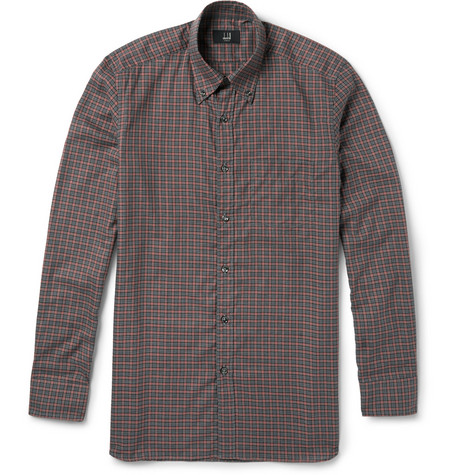 Alfred Dunhill Billy Check Cotton Shirt