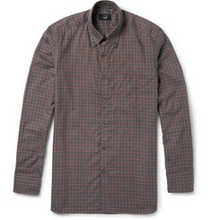 Dunhill Billy Checked Cotton Shirt