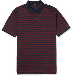 Dunhill Striped Cotton Polo Shirt